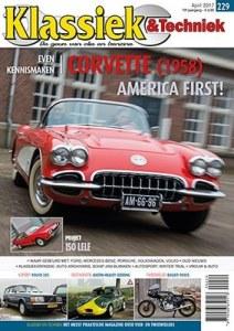 Cover van Klassiek en Techniek 229 maart 2017 met het artikel over de Volvo 240 Polar Estate
