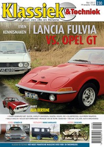 Afbeelding van cover van Klassiek & Techniek nummer 230 editie mei 2017