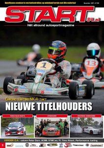 Cover van autosportmagazine Start 84 van oktober 2017 Chrono Karting editie met daarin bijdragen van Ralph Stoové
