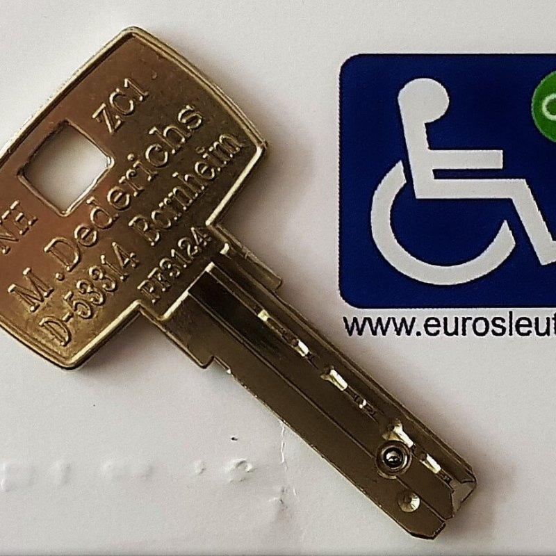 Eurosleutel geeft onbeperkt toegang tot mindervalidentoiletten.