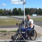 thumbnail van Ralph Stoové met handbike en rolstoel tijdens interview met Dick Maes Broekema