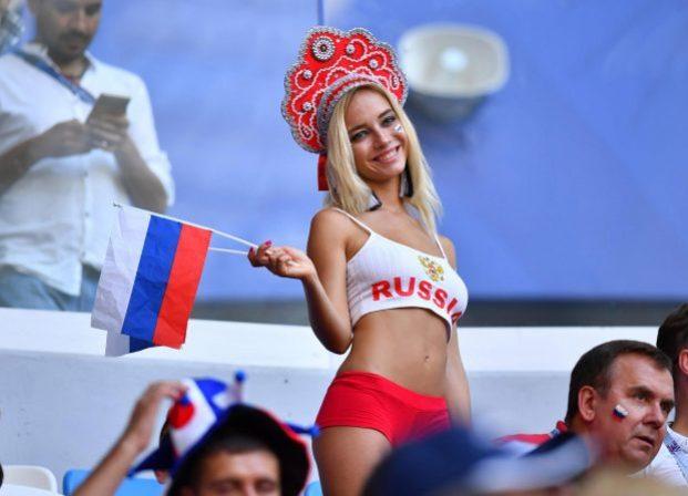 ragazze russe sexy ai mondiali 2018