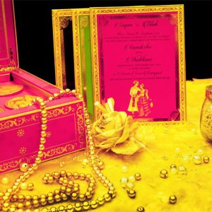 Traditional Indian Wedding Invitations Hindu Cards