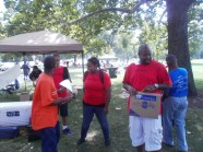 RAGE Members at the Englewood Back to School Parade