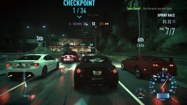 Need For Speed Shot4
