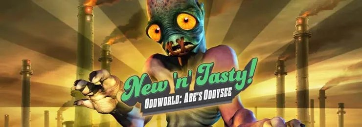 Photo of ODDWORLD NEW 'N' TASTY