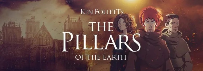 Photo of Ken Follet's THE PILLARS OF THE EARTH Book 2: Sowing the Wind