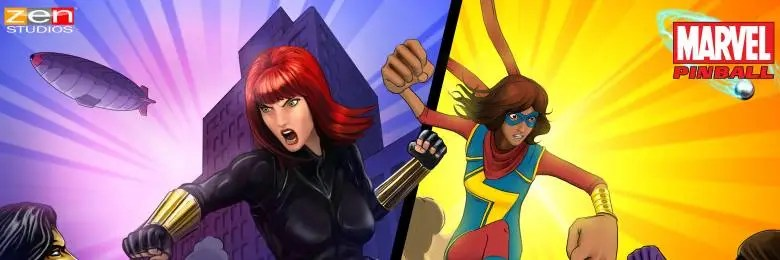 Photo of PINBALL FX2 : MARVEL'S WOMEN OF POWER