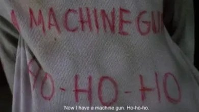 now I have a machine gun, ho-ho-ho