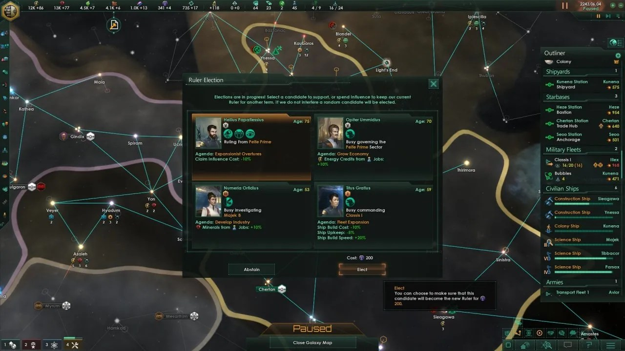 MegaCorp Elections