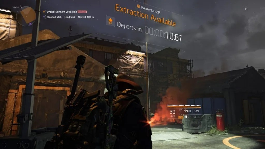 Division 2 DZ Extraction