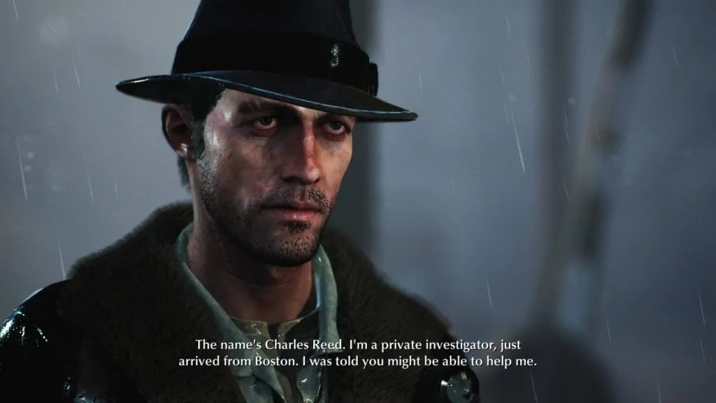 The Sinking City Protagonist Charles Reed