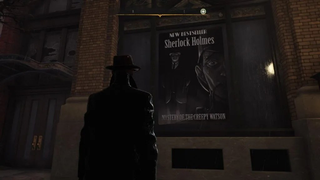 The Sinking City - Creepy Watson Poster