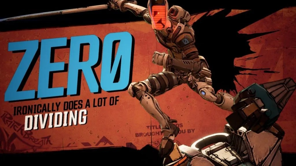 Borderlands 3 - Zero introduction