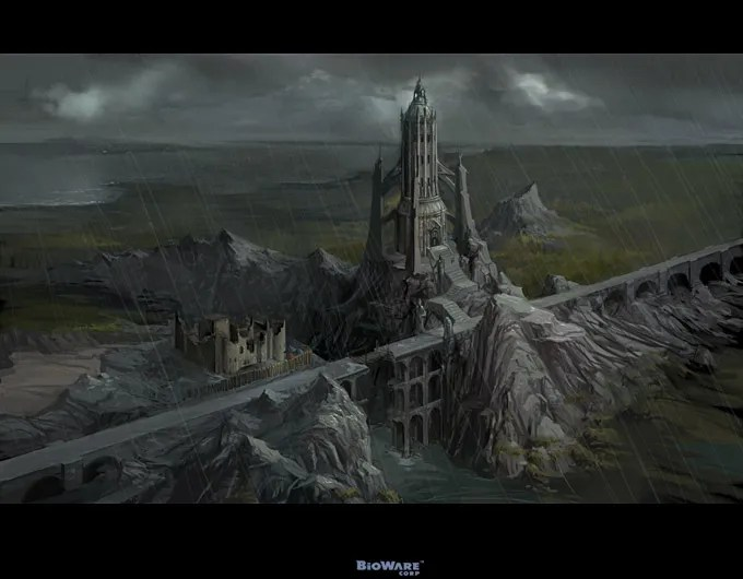 Dragon Age Origins Concept Art