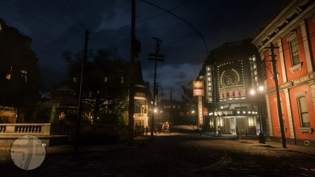 Red Dead Redemption 2 - Saint Denis