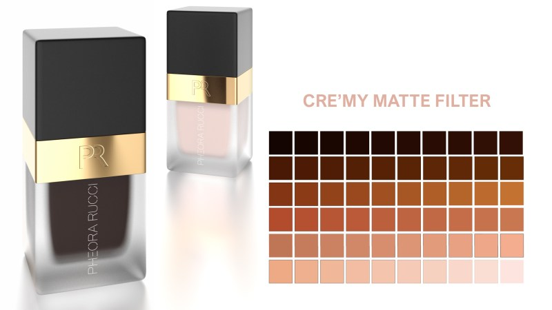 Foundation bottle with Palette