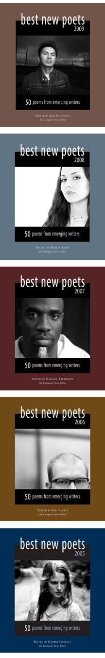Covers of the Best New Poets Series