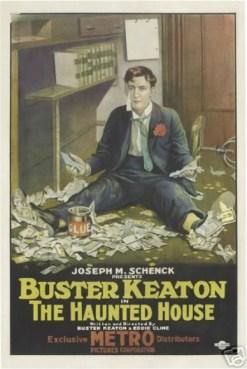 BusterKeatonHauntedHousemovieposter