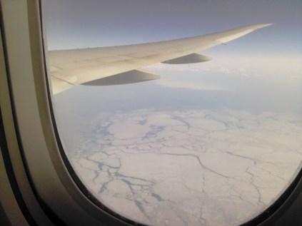 Fascinant paysage polaire au large de la Scandinavie
