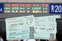 Nos billets de train