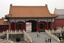 Porte latérale du palais de l'Harmonie suprême