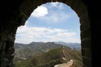 Vu depuis la dernière tour avant Simatai