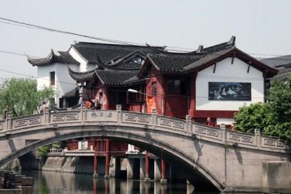 Première vue sur Qibao