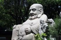 Bouddha le rieur, porteur de prospérité et d'abondance