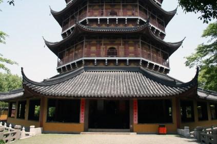 L'entrée du temple