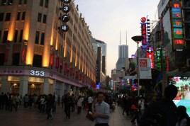 La foule de Nanding Donglu