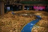 La maquette géante du musée de l'urbanisme
