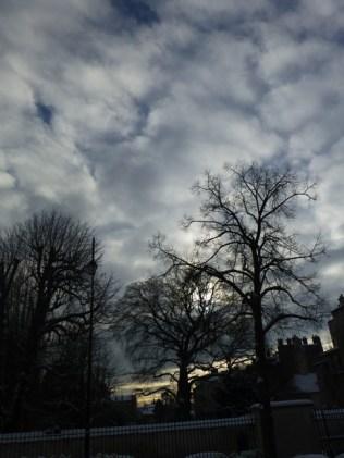 Un beau ciel pommelé