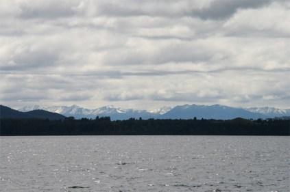 Traversée du lac Manapouri