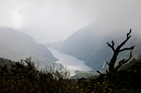 Doubtful Sound – Port de Deep Cove vu depuis la Wilmot Pass