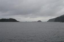La mer de Tasmanie à l'embouchure de Doubtful Sound