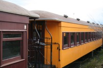 Wagons du train de Taieri Gorge Railway