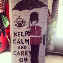 Keep calm and carry on to your job