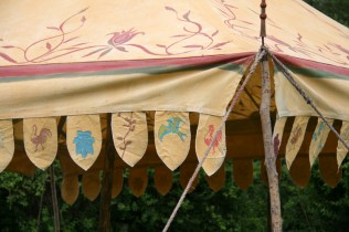 Détails des tentes de Bilbon