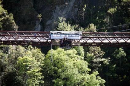 Kawarau Bridge, le plus ancien site de saut à l'élastique commercial