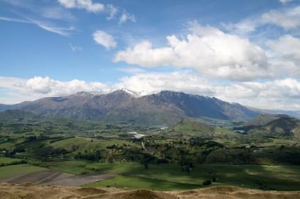 Vue panoramique depuis Coronet Peak Station