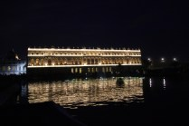 Château de Versailles en éclairage nocturne