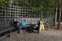 Pause sur le banc