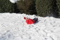 Se rouler dans la neige mais point trop !