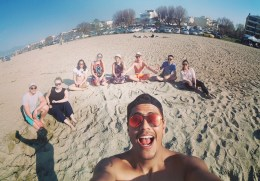 The beach East Europe crew