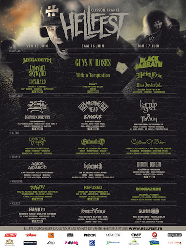 Vulture Industries set to play 2012 Hellfest