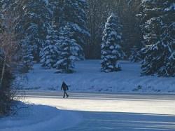 Skating at Harwrelak