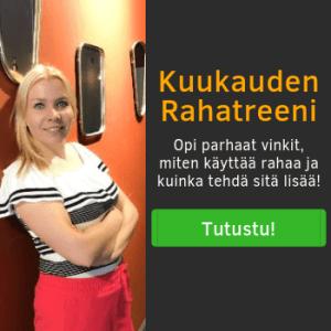 Kuukauden Rahatreeni