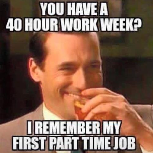 7. loo pilt Part time job