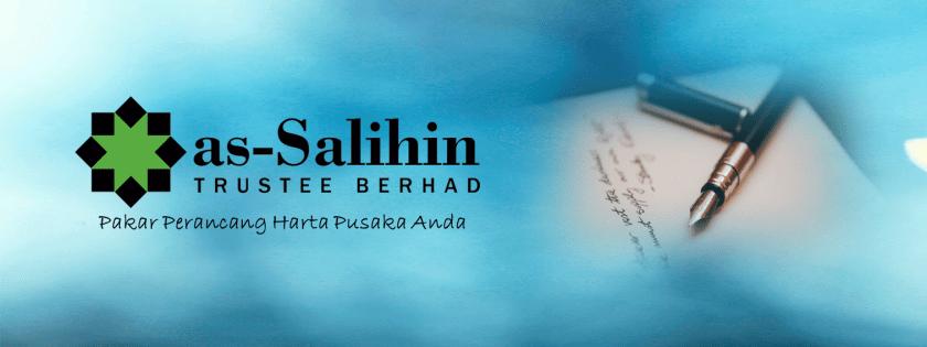 as-Salihin Trustee Berhad ialah syarikat amanah yang pakar dalam membuat perjanjian harta sepencarian dan kemudahan perancangan harta yang lain seperti hibah dan wasiat
